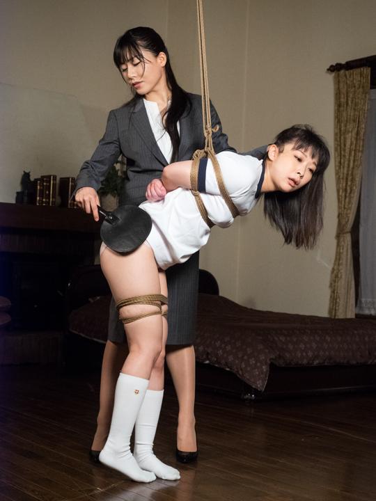 原美織 緊縛写真 緊縛~ 9 蓬莱かすみ×原美織 - S&Mスナイパー レーベル ...