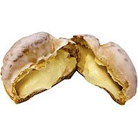 レアチーズのクッキーシュー