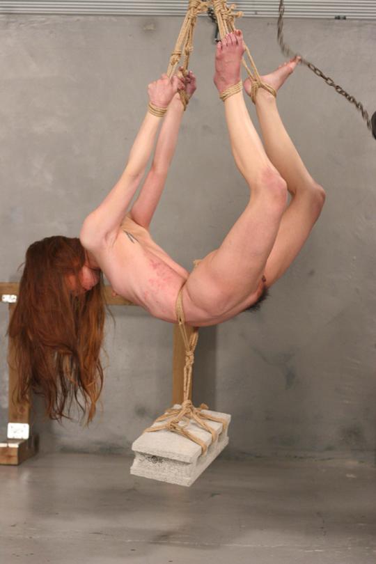 ●究極の緊縛 『股縄吊り』について語ろう●ニコニコ動画>1本 ->画像>31枚